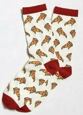 Urban Outfitters Pizza Socks Size 6.5-12.5 Brand New With Tags