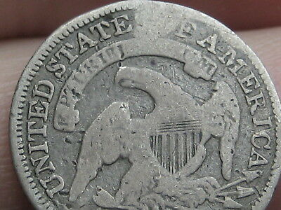 1835 Capped Bust Half Dime- Good Details, Small Date