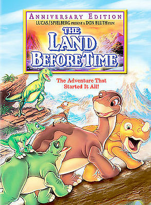 The Land Before Time (DVD, 2003, Anniversary Edition) - NEW!!
