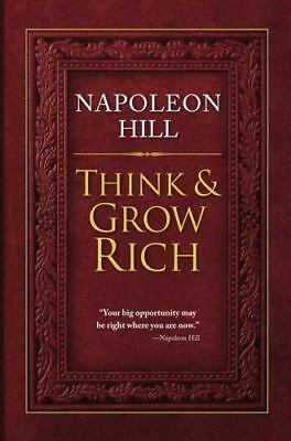 THINK & GROW RICH by NAPOLEON HILL Book, 2012 HARDCOVER, Self-Help