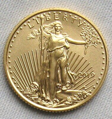 2019 1/10 oz Gold Eagle BU