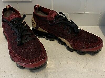 New Nike Air Vapormax Flyknit 2 NRG Shoes Team Red Black AT8955-600 Mens Size 13