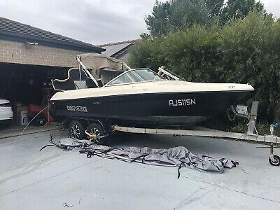 Sea Ray 180 Bowrider Boat with Mercruiser 3.0 and tandem trailer