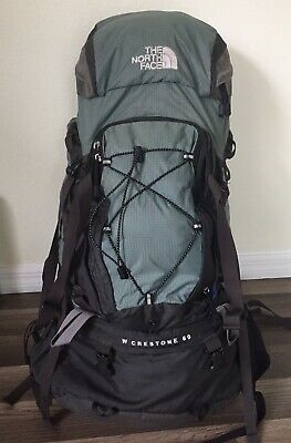 e6ca8c1d6 THE NORTH FACE W Crestone 60 Backpack Hiking Ski Travel Women-Small