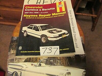 haynes 24032 chevrolet corsica & beretta 1987-1996 repair manual wiring  diagram