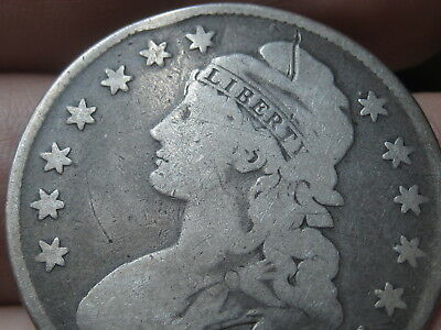 1830-1836 Capped Bust Half Dollar- Small Letters