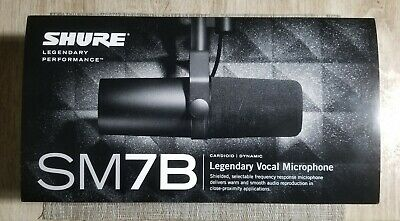 Shure SM7B Dynamic Wired Professional Microphone BRAND NEW!! FACTORY SEALED!!!