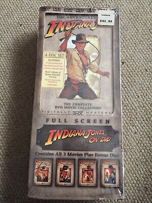 The Adventures of Indiana Jones: The Complete  Full Screen DVD Movie Collection
