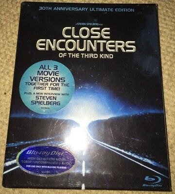 NEW Close Encounters of the Third Kind 30th Anniversary Ultimate Edition Blu-ray