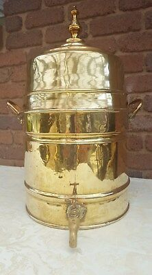 Antique Victorian Copper / Brass Water  Urn -Dutch Origin