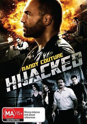 Hijacked (DVD, 2012) // Ex-Rental // No Cover // Disc & Case only