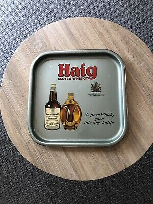 Collectable Vintage Haig Whiskey Drinks Tray, Geelong, Victoria