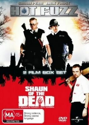 HOT FUZZ and SHAUN OF THE DEAD DVD=2 DISC SET=REGION 4 AUST RELEASE=NEW & SEALED