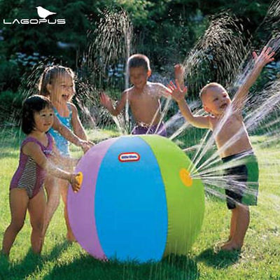 Inflatable Water Toy Summer Beach Ball Lawn Ball Toys For Kids Garden Game Gift