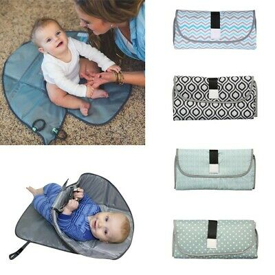Toddlerly Baby Newborns Foldable Waterproof Diaper Changing Mat Portable Pad