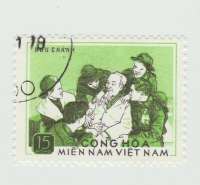 Vietnam - 1974 NFL50 - Ho Chi Mein with soldiers used