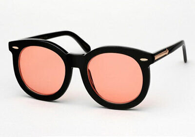 ef4476688ee KAREN WALKER SUPER worship orange sunglasses -  50.00