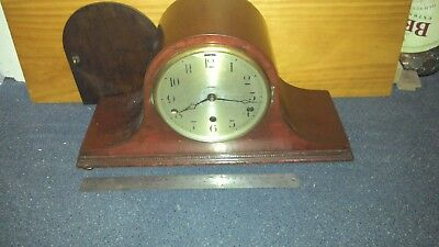 NAPOLEON HAT MANTLE CLOCK  westminster chime