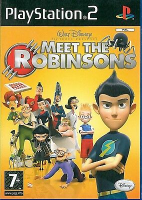 Meet The Robinsons Sony Playstation 2 PS2 7+ Action Game