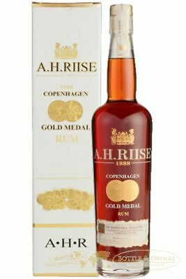 A.H. RIISE 1888 Gold Medal Premium Rum 40 % 0,7 Liter