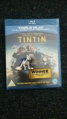 The Adventures of Tintin - The Secret of the Unicorn. Blu-ray, DVD and Digital