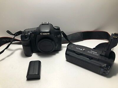Canon EOS 7D 18.0 MP Digital SLR Camera  ++  Canon BG-E7 Grip