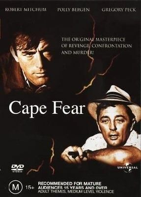 Cape Fear (1962) DVD R4 brand new sealed