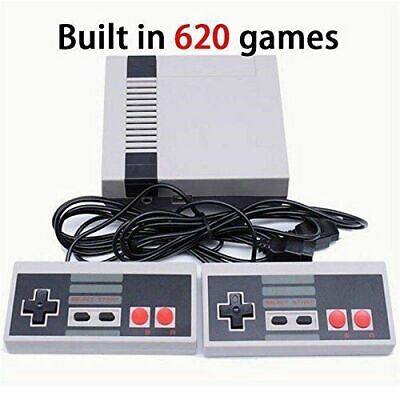 620 Games in1 Classic Mini Game Console for NES Retro TV AV OUT Gamepads UK F&F