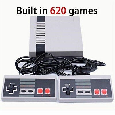 621 Games in1 Classic Mini Game Console for NES Retro TV AV OUT Gamepads UK F&F