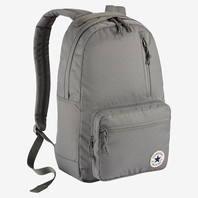 9d820ad545 Converse All Star Chuck Taylor Poly Go Backpack 10004800-A04 Charcoal New