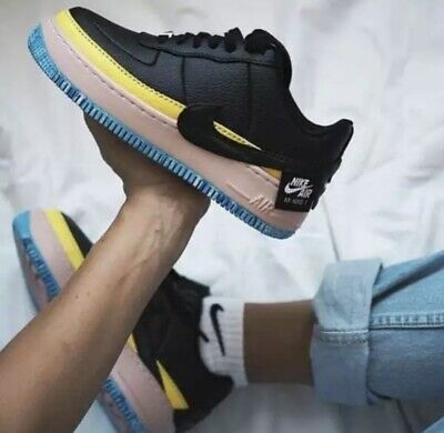hot sale online b16ff c16a1 Womens Nike Air Force 1 Jester Xx Se Multiple Sizes(At2497 001) Black