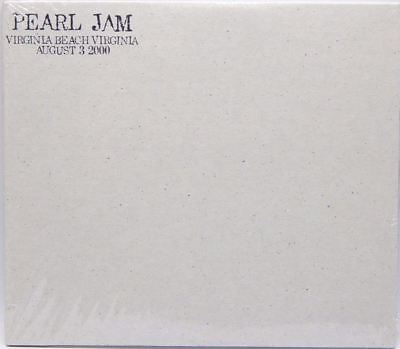 PEARL JAM LIVE Official Bootleg #26 Virginia Beach 08/03/2000 GTE  Amphitheater