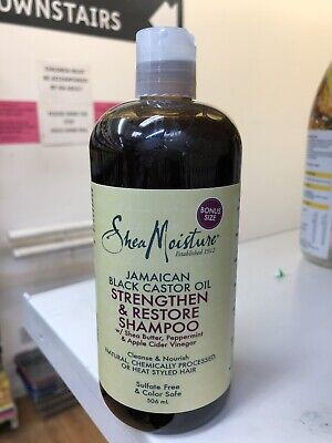Shea Moisture Jamaican Black castor Oil Strengthen And Repair Shampoo