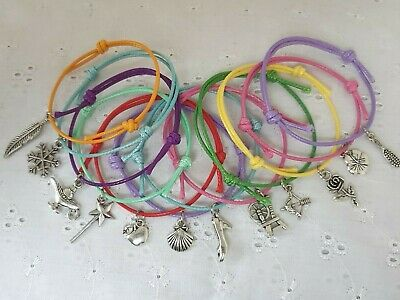 6 or 12 DISNEY PRINCESS THEME FRIENDSHIP BRACELETS FAVOURS GIFTS HEN PARTY GIFTS