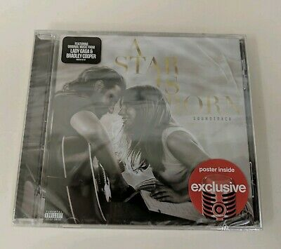 New Sealed A Star Is Born Soundtrack Target Exclusive Cd Lady Gaga + Free Ship