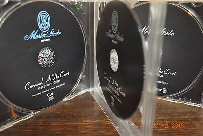 """Queen Freddie Mercury Very Rare Complet Concert """"carnival At The Court"""" 2Cd+Dvd"""