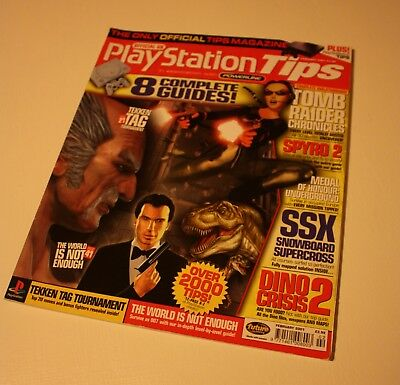 Official UK Playstation Tips magazine Feb 2001 issue 18