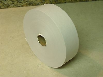 600 Foot Roll Water Activated WHITE KRAFT PAPER TAPE