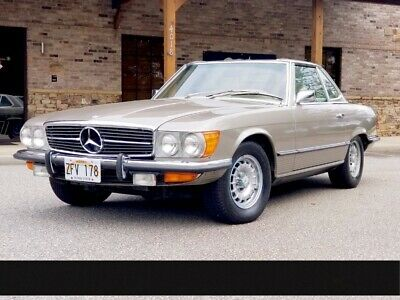 1972 300-Series -- 1972 Mercedes-Benz 350SL Only 24,576 Miles