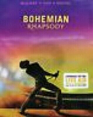Bohemian Rhapsody (Blu-Ray & DVD DISCS, 2019) no digitial - SEE SPECIAL NOTES