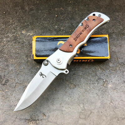 AU Stock Browning 339 Survival Camping Hunting Knives Folding Pocket Knife Tools