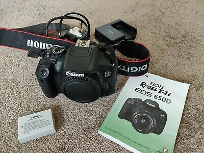Canon EOS 650D / Rebel T4i 18.0 MP Digital SLR Camera (Body Only)