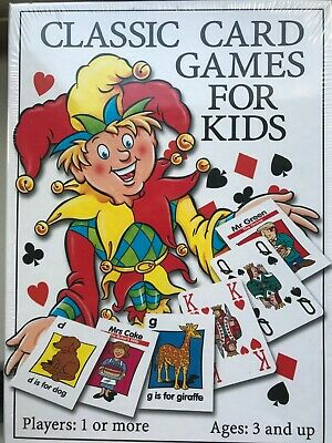 Classic Card Games for Kids, by Paul Lamond Games. Brand New, Sealed. Age 3+