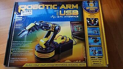 Robot arm with USB for PC. In kit form.