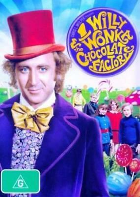 WILLY WONKA And The CHOCOLATE FACTORY DVD MUSICAL FANTASY FAMILY BRAND NEW R4