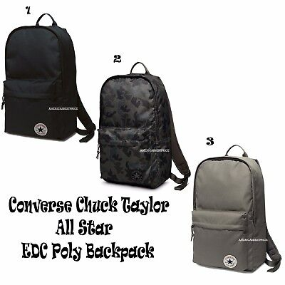 27e9c218447b Converse All Star New Edc Poly Rucksack Backpack Laptop Bookbag Unisex Nwt
