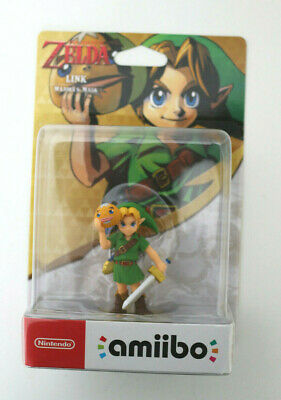 Nintendo Amiibo The Legend Of Zelda Link Majora's Mask  in Original Verpackung