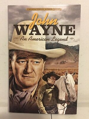 John Wayne: An American Legend (DVD, 2012, 4-Disc Set, Videobook)