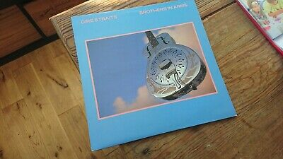 Dire Straits Brothers In Arms Vinyl Lp Lovely Copy 1985 Uk 1St Press A3/b3...