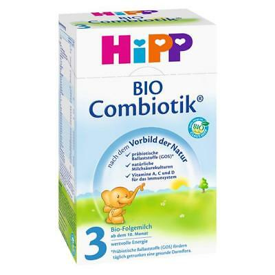 German HiPP 3 Combiotik ORGANIC Baby Formula STAGE 3 (10-12 mo.) Exp.May 12th 19